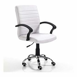 Biela kancelárska stolička Tomasucci Pany