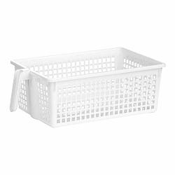 Biely úložný košík Premier Housewares Storage Basket White