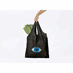 Čeirna nákupná taška DOIY Eye