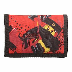 Červená peňaženka LEGO® NINJAGO Kai