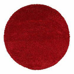 Červený koberec Universal Aqua Liso, ø 80 cm