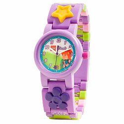 Fialové náramkové hodinky so skladacím remienkom LEGO® Friends Mia