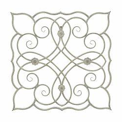 Kovová nástenná dekorácia Mauro Ferretti Naxos, 68,5 cm×68,5 cm
