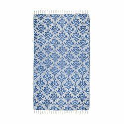 Modrá hammam osuška Kate Louise Serafina, 165×100cm
