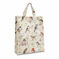 Nákupná taška z bavlny Cooksmart England Dawn Chorus, 30 × 38 cm
