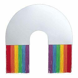Nástenné zrkadlo DOIY Rainbow, 48 x 50 cm