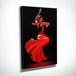 Nástenný obraz na plátne Tango, 30 × 40 cm