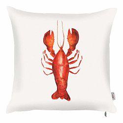 Obliečka na vankúš Apolena Delicious Lobster, 43×43 cm