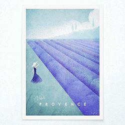 Plagát Travelposter Provence, A3