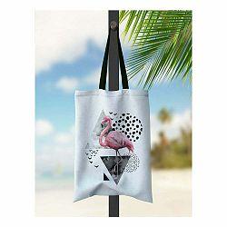 Plážová taška Kate Louise Flamingo
