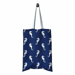 Plážová taška Katelouise Navy Seahorse