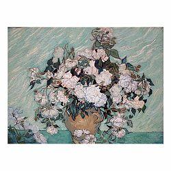 Reprodukcia obrazu Vincenta van Gogha - Rosas Washington, 60×45cm