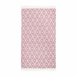 Ružová hammam osuška Kate Louise Calypso, 165×100cm
