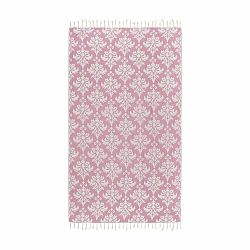 Ružová hammam osuška Kate Louise Serafina, 165×100cm