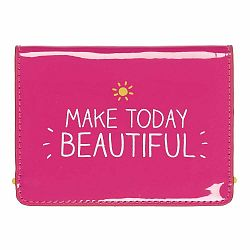 Ružová peňaženka na doklady Happy Jackson Beatiful
