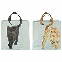 Sada 2 tašiek Esschert Design Mačka