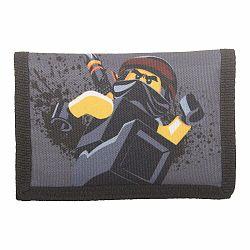Sivá peňaženka LEGO® NINJAGO Cole
