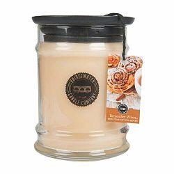 Sviečka s vôňou v sklenenej dóze s vôňou orientu Bridgewater candle Company Remember When, doba horenia 65-85 hodín