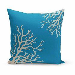 Vankúš Coral Azuro, 43×43 cm