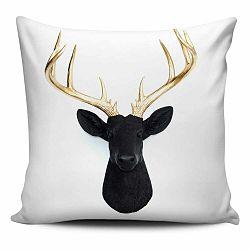 Vankúš s výplňou Christmas Deer 6, 45×45cm