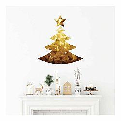 Vianočná samolepka Ambiance Christmas Tree Origami