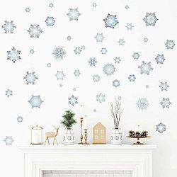 Vianočná samolepka Ambiance Snowflakes