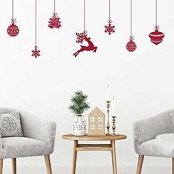 Vianočné samolepky Ambiance Style Scandinave