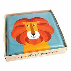 Vodoodolná detská knižka na kúpanie s levom Rex London