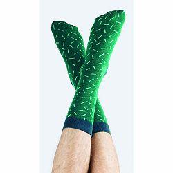 Zelené ponožky DOIY Cactus Astros, veľ. 37 - 43